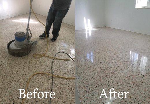 Polishing Terrazzo Floors Miami Terrazzo Repair